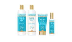 argan oil branding and design