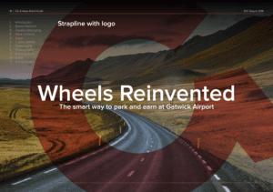car and away content an design