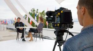 cameraman interviews