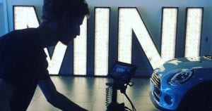 mini cooper video content